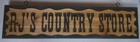 Country Store Wooden sign made to order