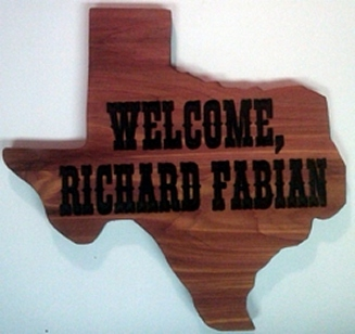 Oval Carved Cedar Wooden Sign made to order